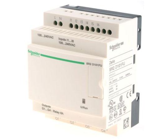 ロジックモジュール リレー 4 x Output 100 → 240 V ac Zelio Logic  SR2D101FU