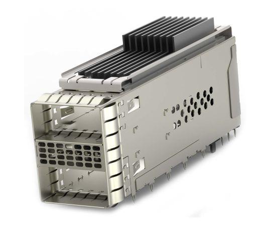[取扱停止]ケージアセンブリ ZQSFPシリーズ 38極 メス ストレート 2ポート  2299940-3