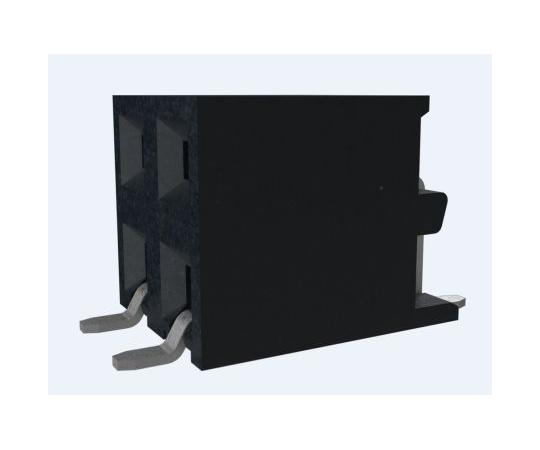 [取扱停止]基板接続用ソケット Minitek シリーズ 2mm 4 極 2 列 ストレート 表面実装  10131933-104ULF