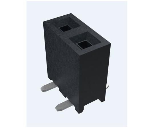 基板接続用ソケット Minitek シリーズ 2mm 6 極 1 列 垂直 表面実装  10131935-106ULF