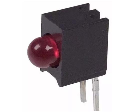 基板用LED表示灯 赤 直角 スルーホール実装  5600F1