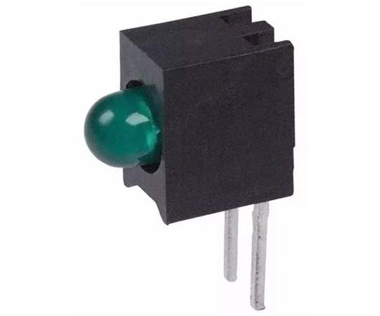 基板用LED表示灯 緑 直角 スルーホール実装  5600F5