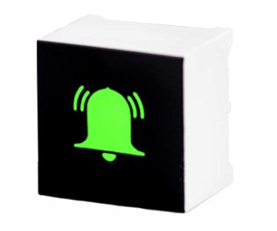 [取扱停止]タッチスイッチ 静電容量型 緑 黒、白  CTHS15CIC05ALARM