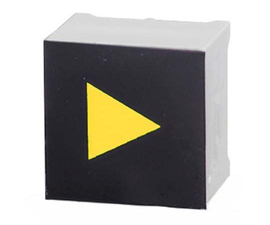 タッチスイッチ 静電容量型 黄 黒、白  CTHS15CIC07ARROW