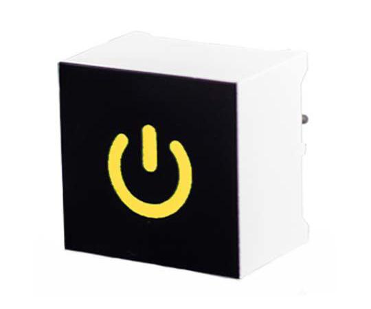 [取扱停止]タッチスイッチ 静電容量型 黄 黒、白  CTHS15CIC07ONOFF