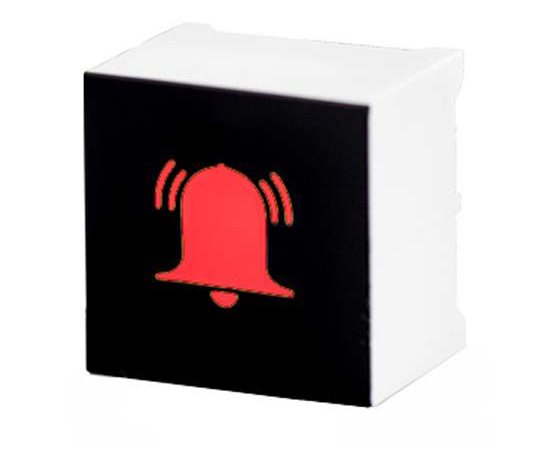 タッチスイッチ 静電容量型 赤 黒、白  CTHS15CIC01ALARM