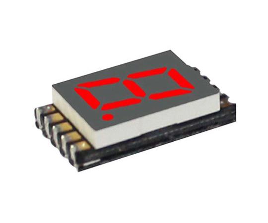 7セグメント 文字高 7.6mm 単桁 LED 数字表示器 DSM 赤  DSM7UA30101