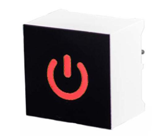 [取扱停止]タッチスイッチ 静電容量型 赤 黒、白  CTHS15CIC01ONOFF