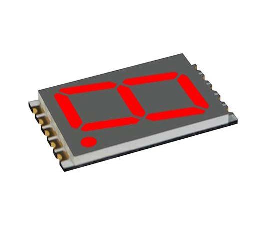 7セグメント 文字高 17.8mm 単桁 LED 数字表示器 DSM 赤  DSM7UA70101