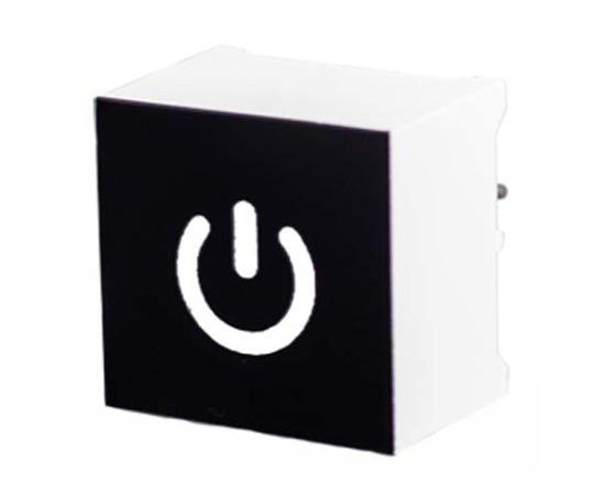 [取扱停止]タッチスイッチ 静電容量型 白 黒、白  CTHS15CIC04ONOFF