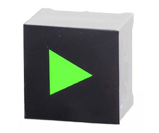 タッチスイッチ 静電容量型 緑 黒、白  CTHS15CIC05ARROW