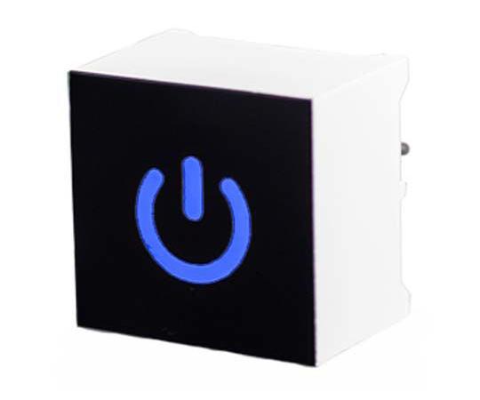 タッチスイッチ 静電容量型 青 黒、白  CTHS15CIC06ONOFF