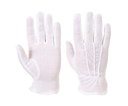 綿手袋 汎用 白  137-2054