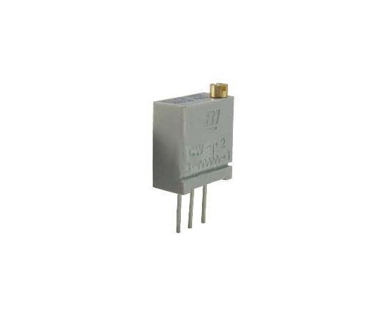[取扱停止]半固定抵抗器 100kΩ 0.5 W @ 85 °C 上面調整 20 スルーホール  67WR100KLF