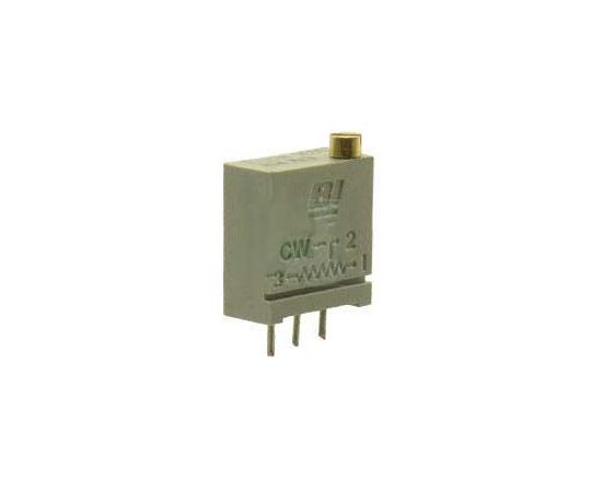 [取扱停止]半固定抵抗器 1kΩ 0.5 W @ 85 °C 上面調整 20 スルーホール  67WR1KLF