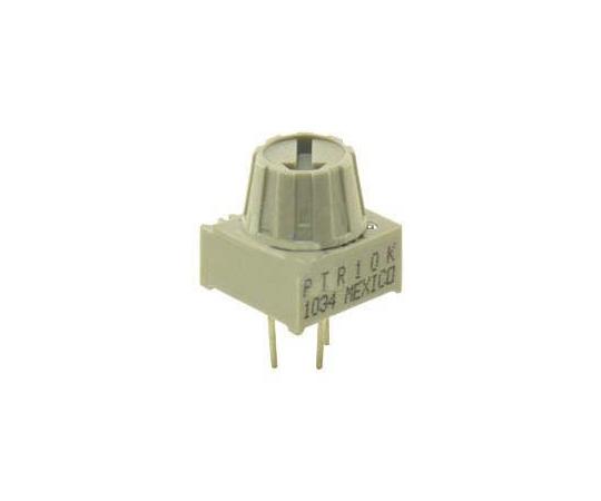 半固定抵抗器 10kΩ 0.5 W @ 85 °C 上面調整 1 スルーホール  72PTR10KLF