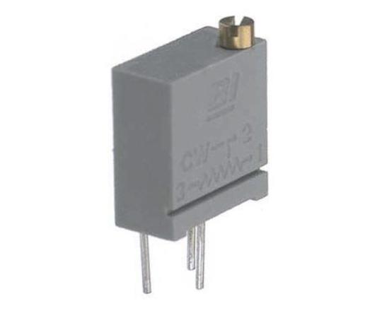 半固定抵抗器 5kΩ 0.5 W @ 85 °C 側面調整 20 スルーホール  67XR5KLF