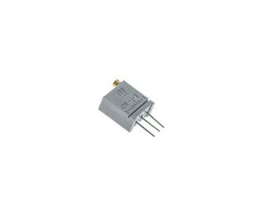 [取扱停止]半固定抵抗器 500Ω 0.5 W @ 85 °C 上面調整 20 スルーホール  67WR500LF