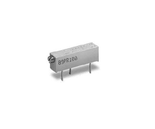 半固定抵抗器 2kΩ 0.75 W @ 85 °C 側面調整 20 スルーホール  89PR2KLFTB