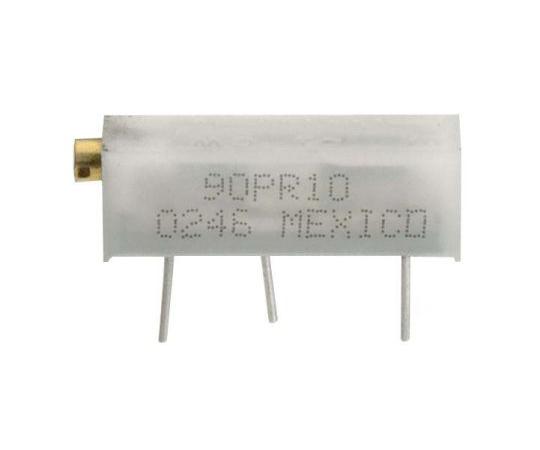 半固定抵抗器 1kΩ 0.75 W @ 85 °C 側面調整 20 スルーホール  90PR1KLFTB
