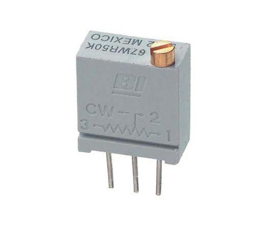 半固定抵抗器 50kΩ 0.5 W @ 85 °C 上面調整 20 スルーホール  67WR50KLF