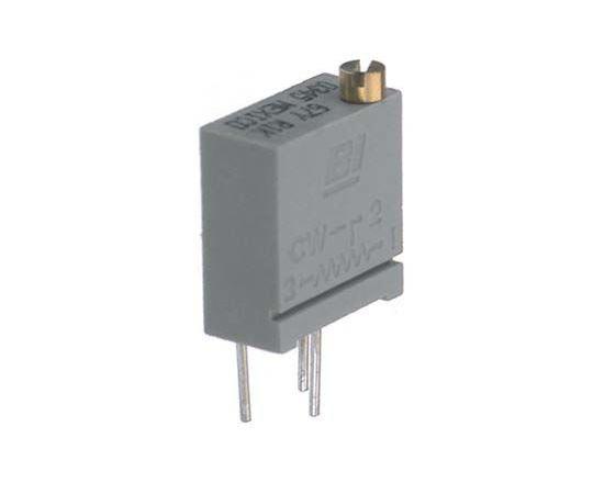半固定抵抗器 20kΩ 0.5 W @ 85 °C 上面調整 20 スルーホール  67YR20KLF