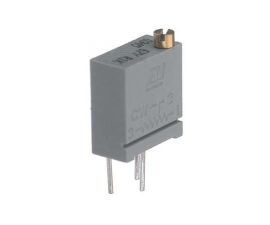 半固定抵抗器 5kΩ 0.5 W @ 85 °C 上面調整 20 スルーホール  67YR5KLF