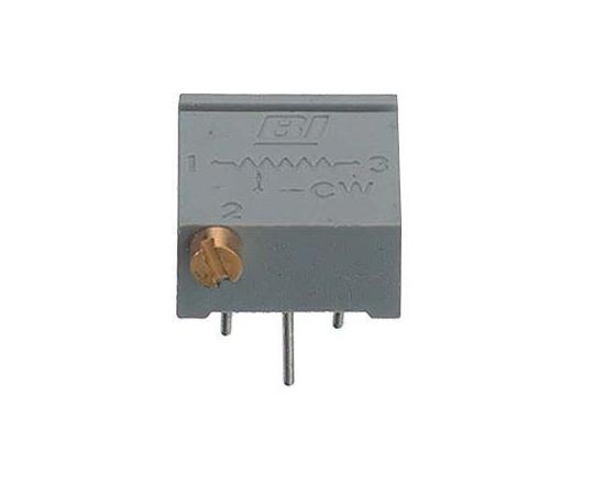 半固定抵抗器 10kΩ 0.5 W @ 85 °C 側面調整 20 スルーホール  67PR10KLF
