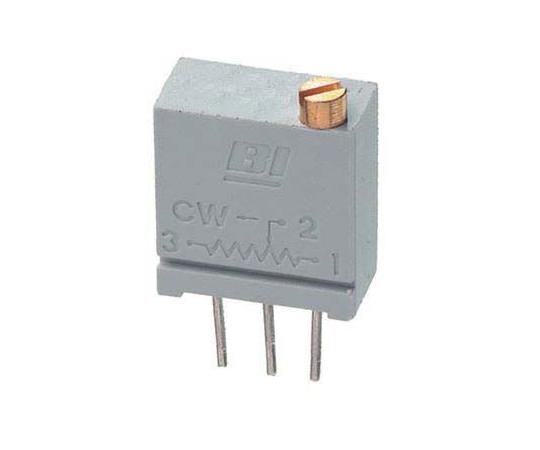 半固定抵抗器 1kΩ 0.5 W @ 85 °C 上面調整 20 スルーホール  67WR1KLF