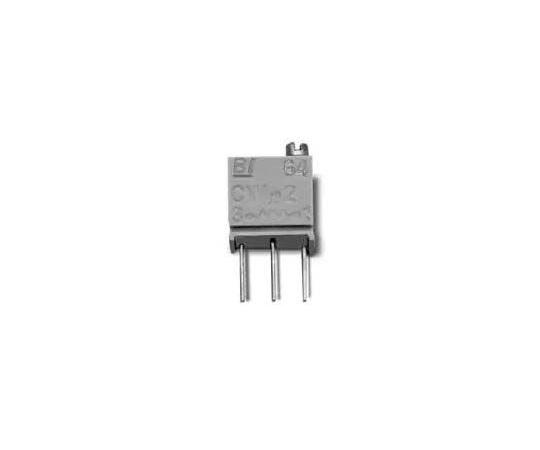 半固定抵抗器 1kΩ 0.25 W @ 85 °C 側面調整 12 スルーホール  64XR1KLF