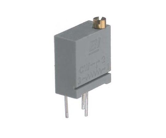 半固定抵抗器 10kΩ 0.5 W @ 85 °C 上面調整 20 スルーホール  67YR10KLF
