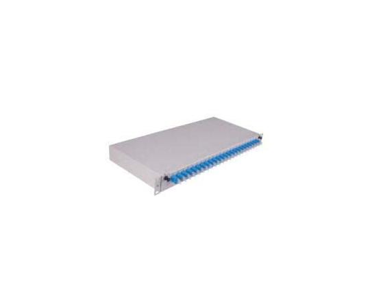光ファイバパッチパネル LC LX.5 SC 24極  FIBERFRA-LITE-HOUSING-EMPTY-GY