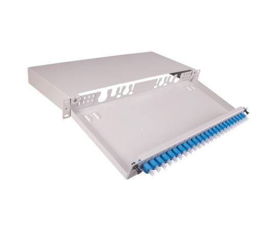 光ファイバパッチパネル LC 24極  FL1-BLCAD-2400-SM-000-0O00