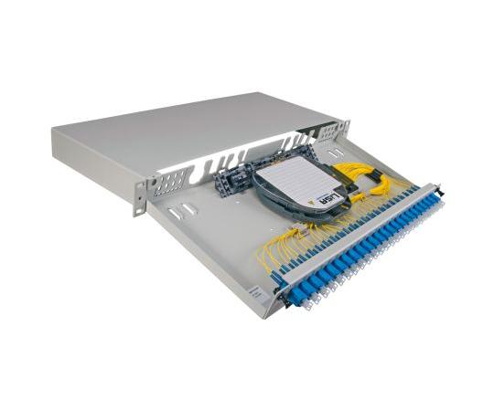 [取扱停止]光ファイバパッチパネル SC 24極  FL1-BSCAS-2424-SM-100-0OS0