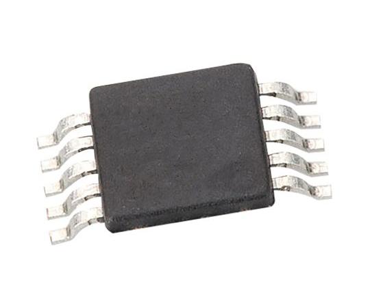 デジタルポテンショメータ 50kΩ 64ポジション I2C 10ピン MSOP  AD5258BRMZ50