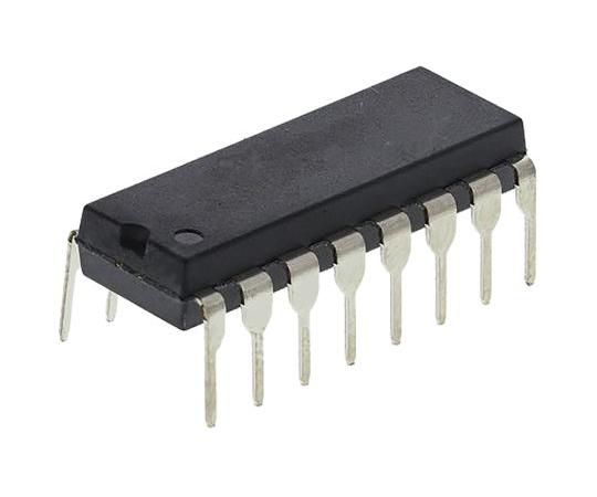クワッドSPST アナログスイッチ 16-Pin PDIP  AD7511DIKNZ