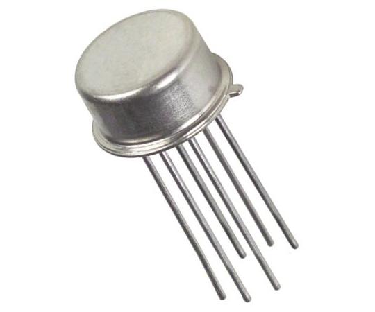 デュアル NPN トランジスタ スルーホール 45 V 25 mA 6-Pin TO-78  MAT01AHZ