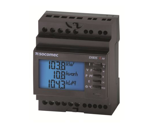 [取扱停止]デジタル電力計 LCD DIRIS A10シリーズ  4825 0011