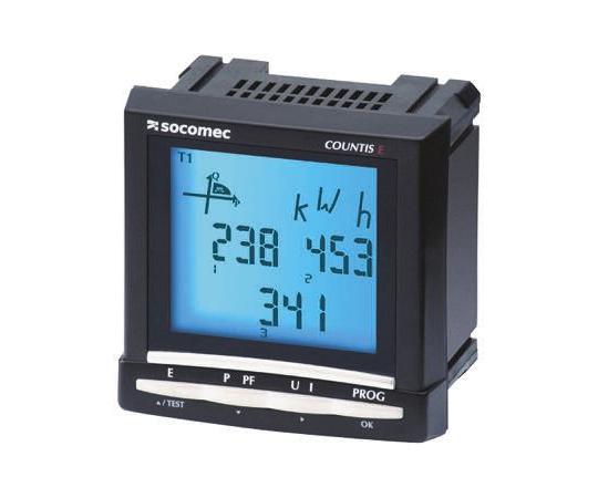 デジタル電力計 LCD パルス出力 92 x 92 mm Countis E53シリーズ  4850 3011