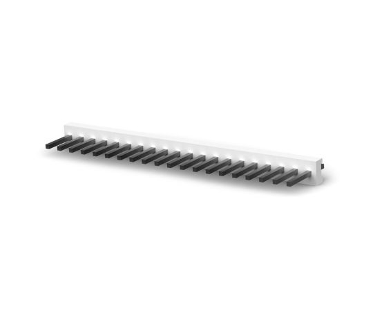 基板接続用ヘッダ MTA-156シリーズ 20極 3.96mm 1列 ストレート  2-640383-0