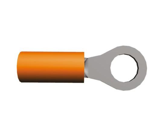 絶縁 丸形圧着端子 PIDG STRATO-THERMシリーズ 内径:5mm スタッド径:M5  50836-1