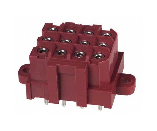 基板接続用ソケット Metrimate シリーズ 5mm 12 極 3 列 ストレート スルーホール  207528-9