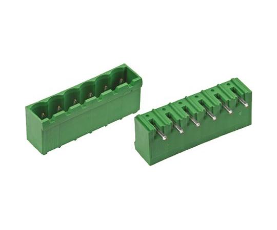 基板用端子台 Buchananシリーズ 5.08mmピッチ 1列 4極 緑  796636-4