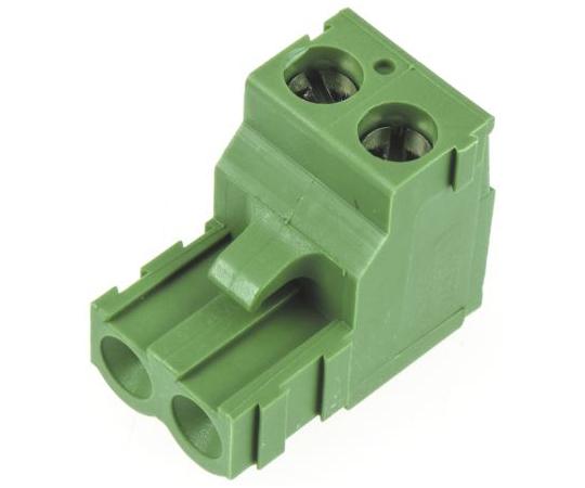 基板用端子台 Buchananシリーズ 5.08mmピッチ 1列 2極 緑  282807-2