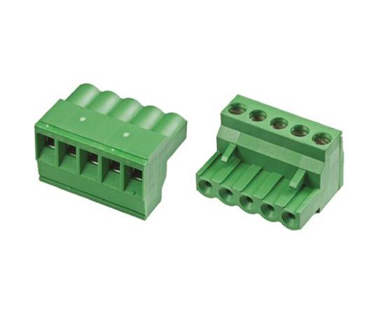 中継用端子台 4極 5mm ピッチ  796640-4