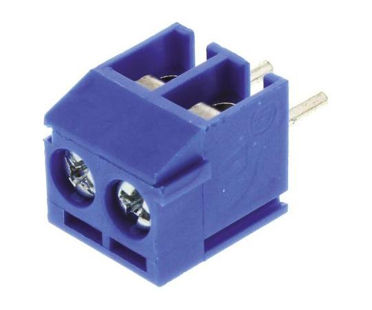 基板用端子台 Buchananシリーズ 3.5mmピッチ 1列 2極 青  1776275-2