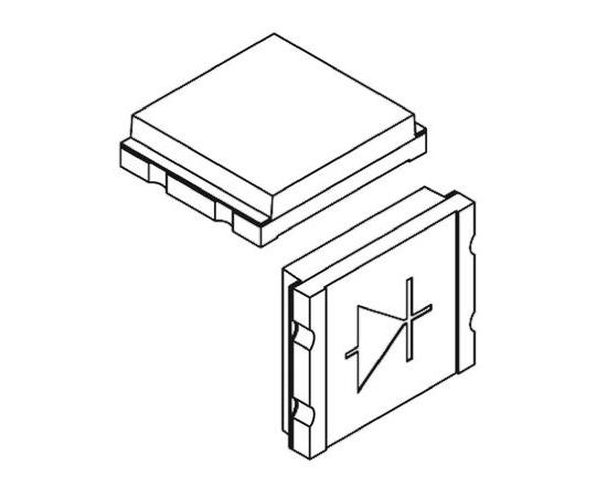 フォトダイオード IR + Visible Light 65 ° Si 表面実装  TEMD5020X01