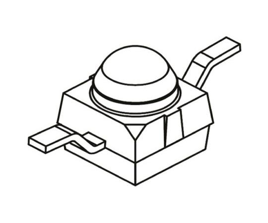 フォトトランジスタ 赤外線 30° 表面実装  VEMT2000X01