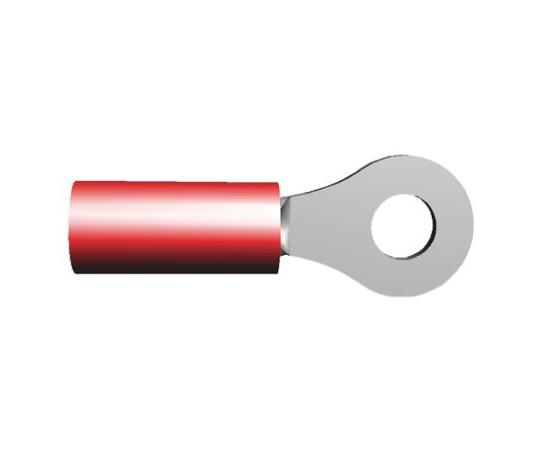 絶縁 丸形圧着端子 PIDGシリーズ スタッド径:M3.5 赤 22AWG to 16AWG  326878
