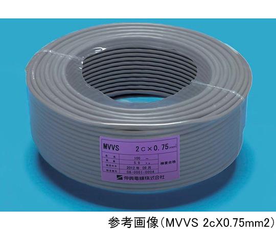 マイクロホン用ビニルコード  MVVS 0.5sqX2c
